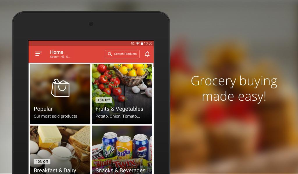 Grocery List - Android App for best Shopping