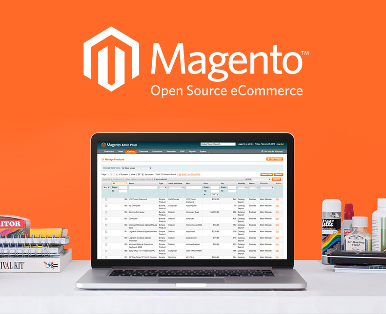 Magento Themes Let You Experiment With the Overall Look of Your Shopping Cart Online